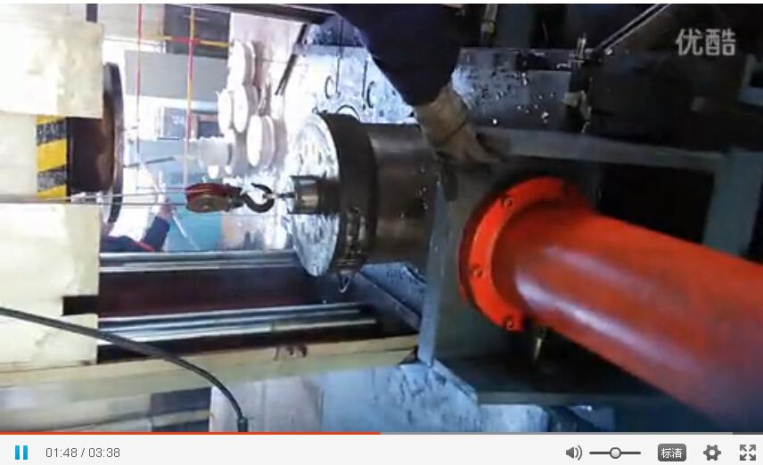 四柱液压机之转子铸铝机