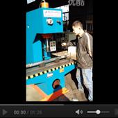 小型单臂液压机视频展示