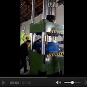 250T四柱液压机工作视频