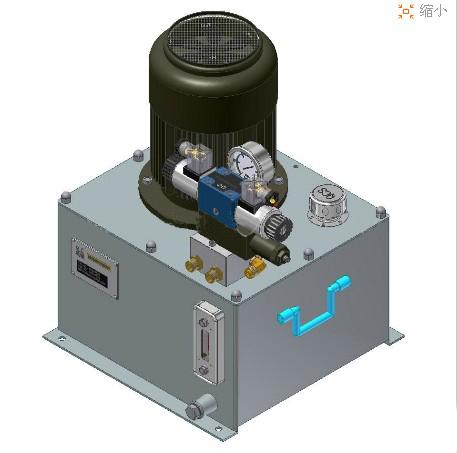 液压机液压阀展示