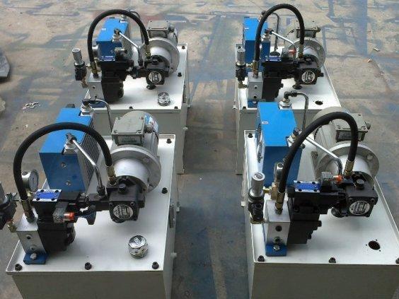 应用在四柱液压机上的电磁插装阀图片
